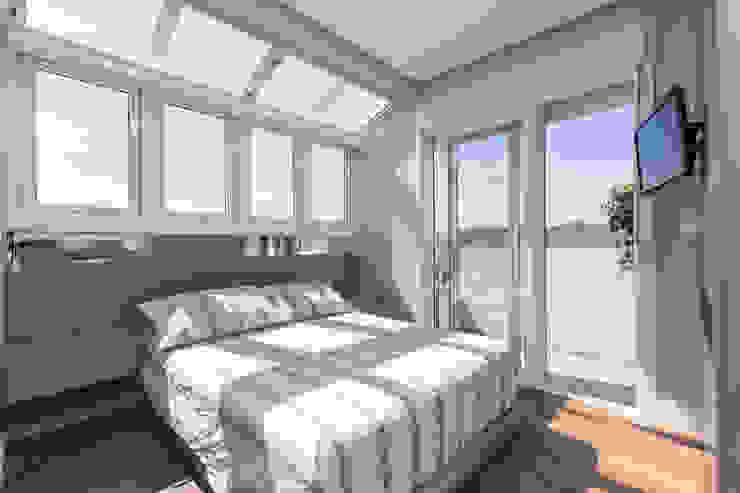 Dormitório do Casal por Rabisco Arquitetura Moderno