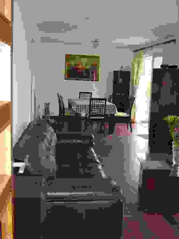 Casa Chicureo Livings de estilo colonial de Casas E-Haus Colonial