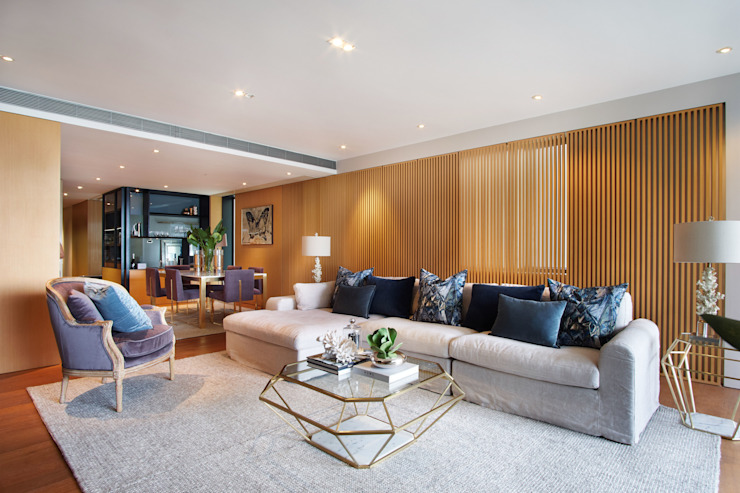 Once the apartment had been staged by The Home Stylist and Bowerbird Home by The Home Stylist