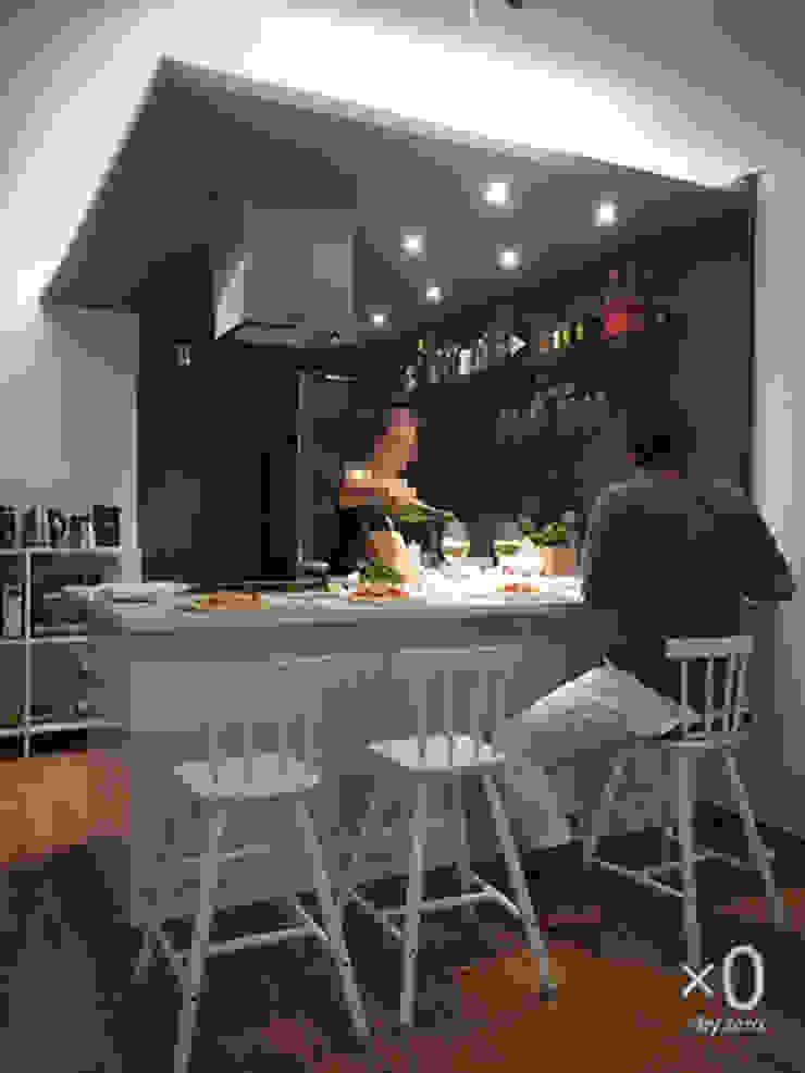 옥수동 삼성아파트 인테리어 모던스타일 주방 by 바이제로 모던