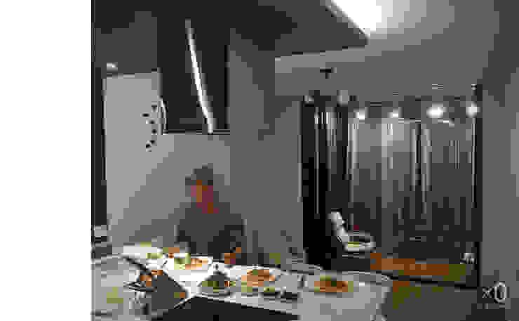 옥수동 삼성아파트 인테리어 모던스타일 거실 by 바이제로 모던