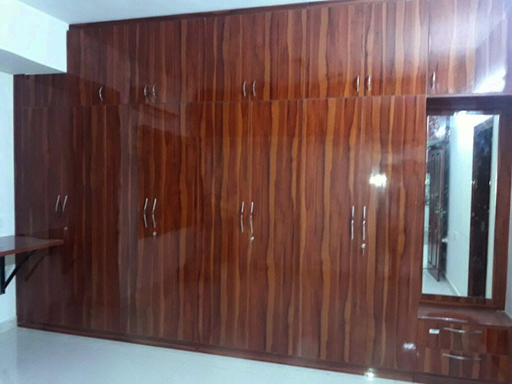 Wardrobe Online India Modern style bedroom by homify Modern