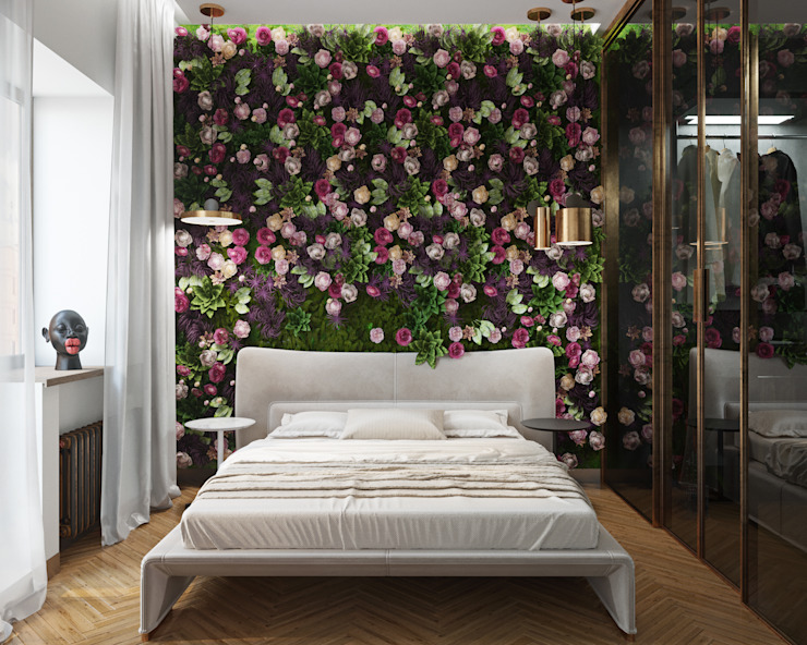 Eclectic style bedroom by ДОМ СОЛНЦА Eclectic