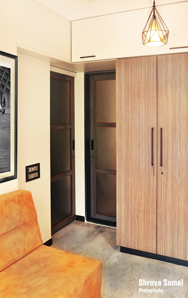 Habitaciones modernas de Dhruva Samal & Associates Moderno
