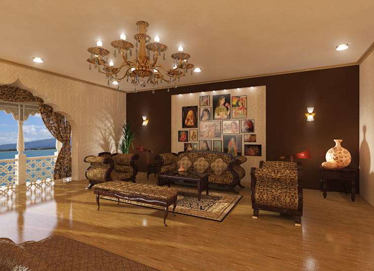 Deluxe Suite Classic style bedroom by Ravi Prakash Architect Classic Marble