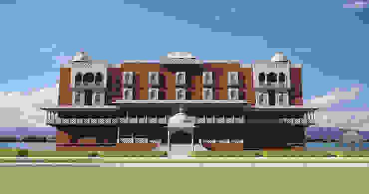 Hotel by Ravi Prakash Architect Classic Marble