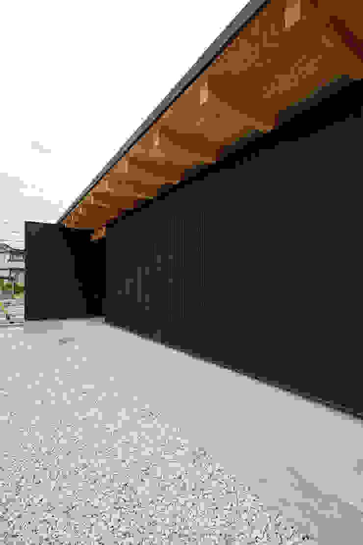ポーチ の 空間建築-傳 モダン