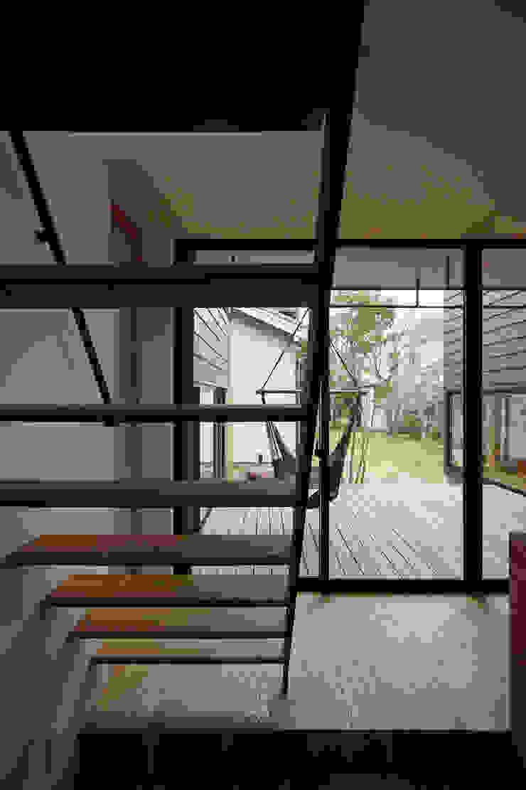 階段 インダストリアルな 玄関&廊下&階段 の 空間建築-傳 インダストリアル