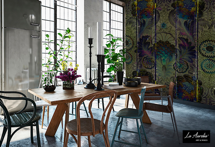 Oasis #160914 Wallpaper van La Aurelia Industrieel