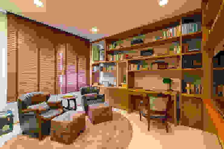 Home Office RF DESIGN DE INTERIORES Escritórios modernos