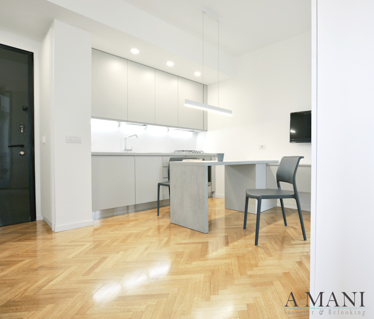by A4MANI - Interior & Architecture Modern Engineered Wood Transparent