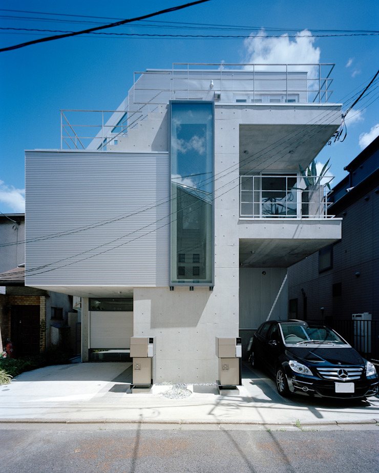 M+2 Architects & Associates Casas estilo moderno: ideas, arquitectura e imágenes