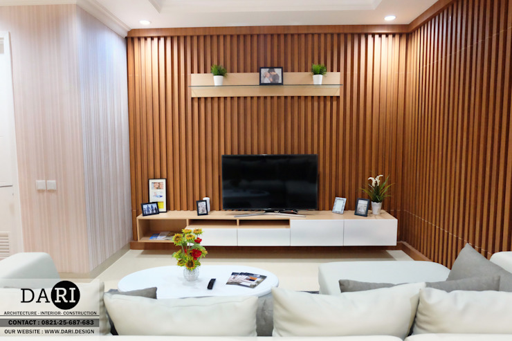 living room cabinet Oleh DARI Minimalis Kayu Lapis