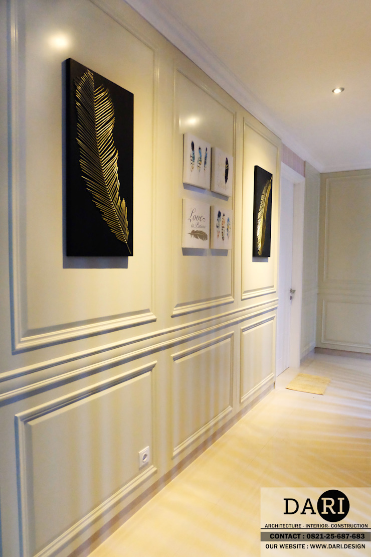hallway decoration and panel Oleh DARI Minimalis