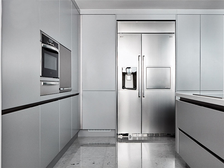 cocina Kitchen units Grey