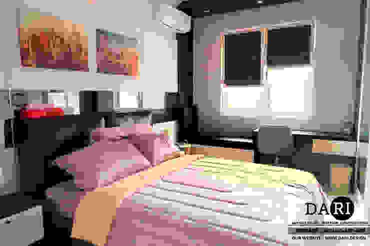 bedroom no 1 Oleh DARI Minimalis Kulit Imitasi Metallic/Silver