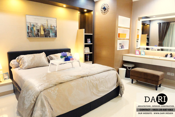 master bedroom Oleh DARI Minimalis