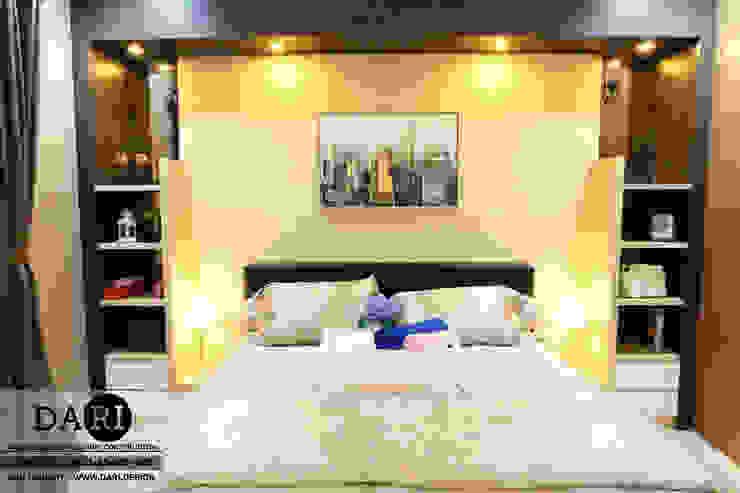 master bedroom backdrop Oleh DARI Minimalis