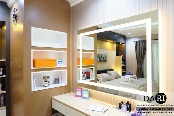 master bedroom dressing table Oleh DARI Minimalis
