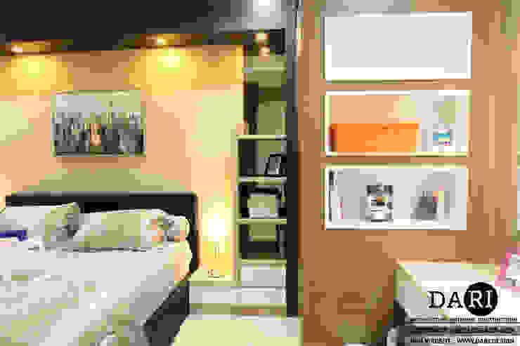master bedroom backdrop and dressing table Oleh DARI Minimalis