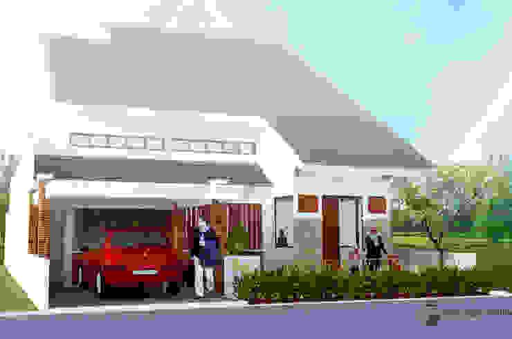 Hesty Home by Griya Cipta Studio Tropical Stone