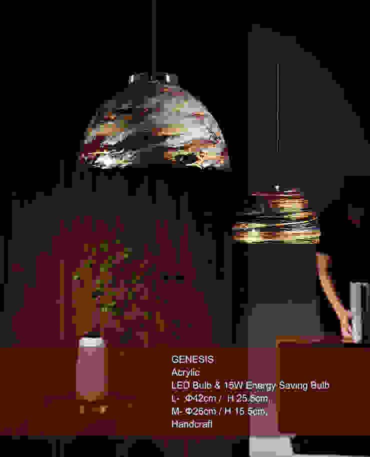 GENESIS / PENDANT LIGHT: 斯堪的納維亞  by KUO YU LIGHTING, 北歐風