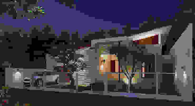 Genta House by Griya Cipta Studio Tropical