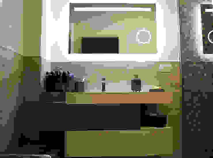 Studio Tecnico Progettisti Associati Ing. Marani Marco & Arch. Dei Claudia Salle de bain minimaliste