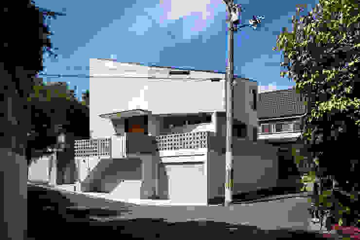 藤森大作建築設計事務所 Modern houses White