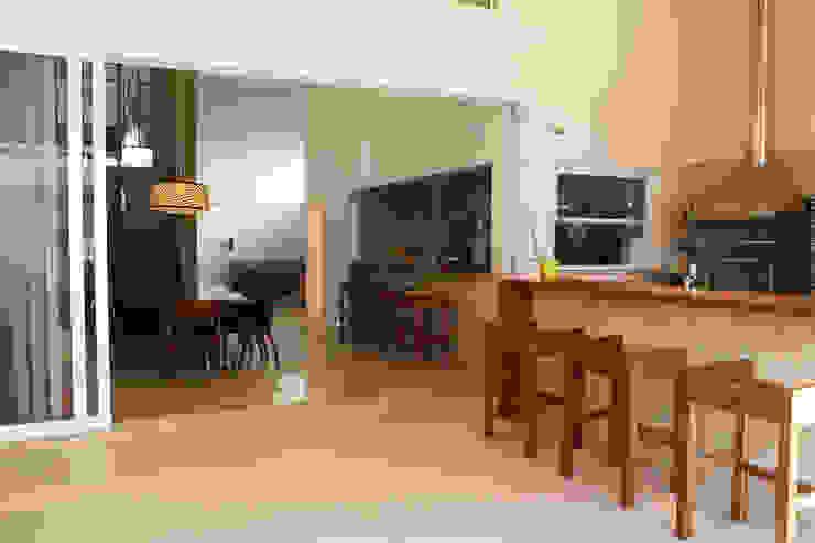 Varanda Gourmet Varandas, marquises e terraços modernos por Fernanda Quelhas Arquitetura Moderno