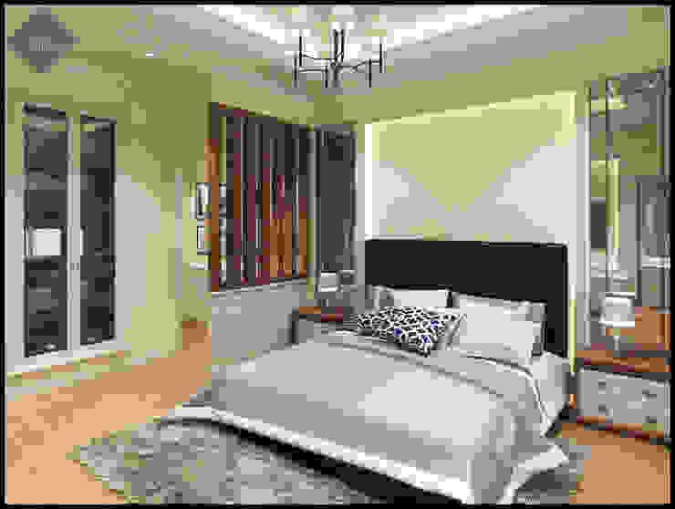 Royal Platinum Bedroom For Mr. A:  Bedroom by The Atelier Pekanbaru