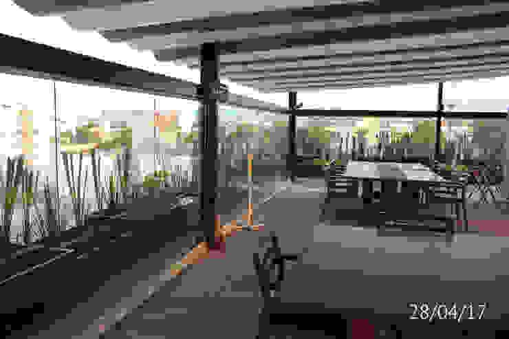 TP618 Balcones y terrazas de estilo moderno Bambú Verde