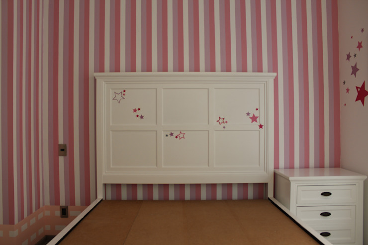 TP618 Eclectic style bedroom Pink