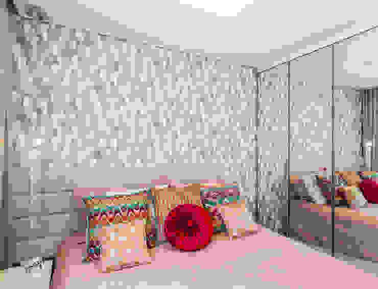 Arquitetura Sônia Beltrão & associados Modern Bedroom MDF Multicolored