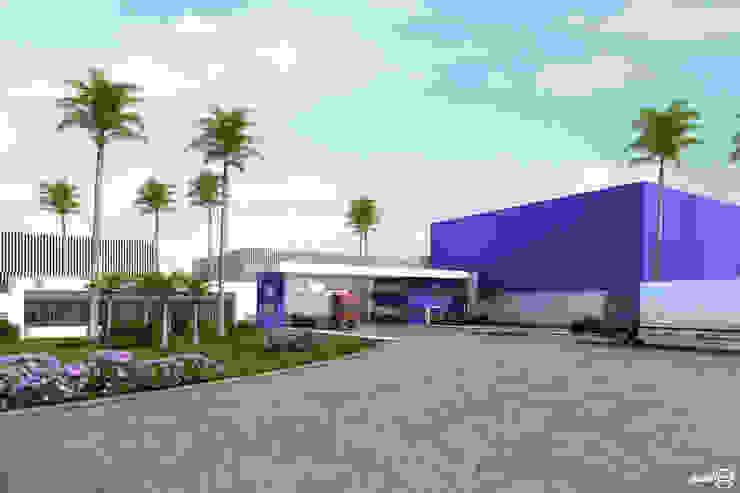 Arquitetura Sônia Beltrão & associados Office buildings Iron/Steel White