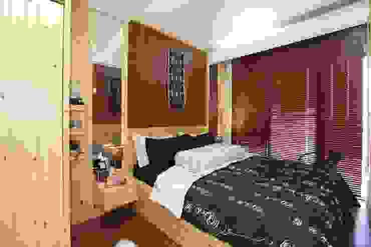 a+Plan Architect and Interior Works Kamar Tidur Gaya Rustic
