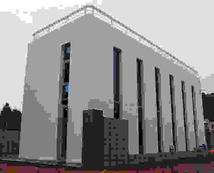 건물외관 모던스타일 주택 by 디자인모리 모던