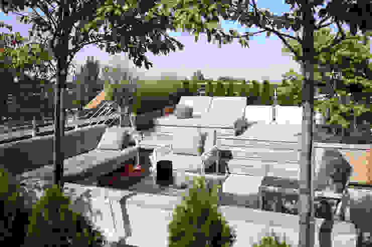Roof Terrace tredup Design.Interiors Balconies, verandas & terraces Furniture
