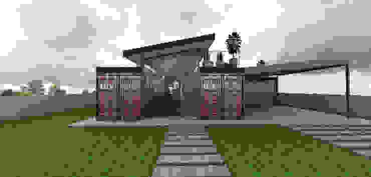 現代房屋設計點子、靈感 & 圖片 根據 Petillo Arquitetura 現代風 金屬