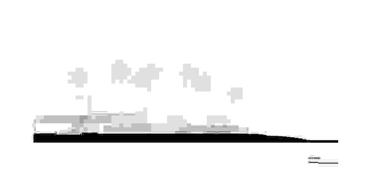 Naman Residences – Beachfront Villa: hiện đại  by MIA Design Studio, Hiện đại