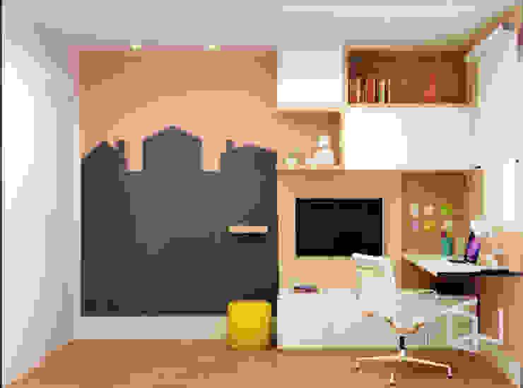 Quarto Infantil Studio Monfre Arquitetura Quartos das meninas Rosa