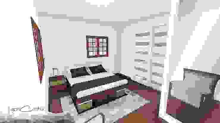 Rancho M.A. Quartos modernos por Igor Cunha Arquitetura Moderno