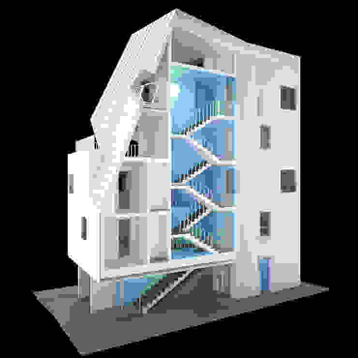 사근동 기운집 氣運集: 수상건축의 현대 ,모던