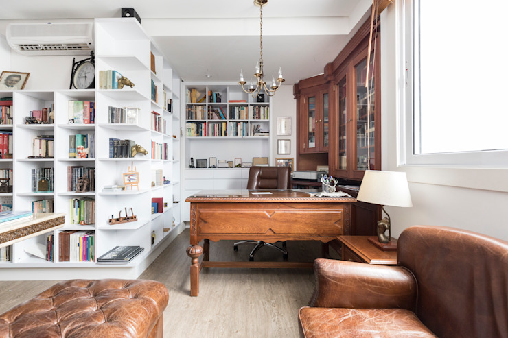 Study/office by Kali Arquitetura, Classic