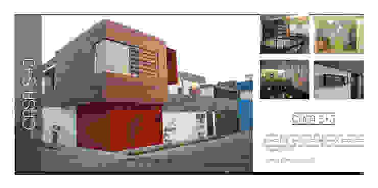 Casa J+S ARQUIMIA ARQUITECTOS de Arquimia Arquitectos Moderno
