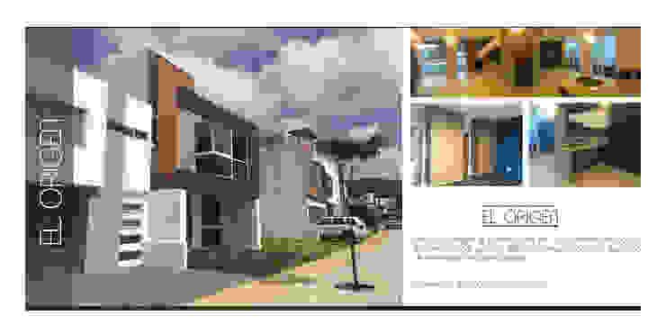 EL ORIGEN Arquimia Arquitectos Casas unifamiliares