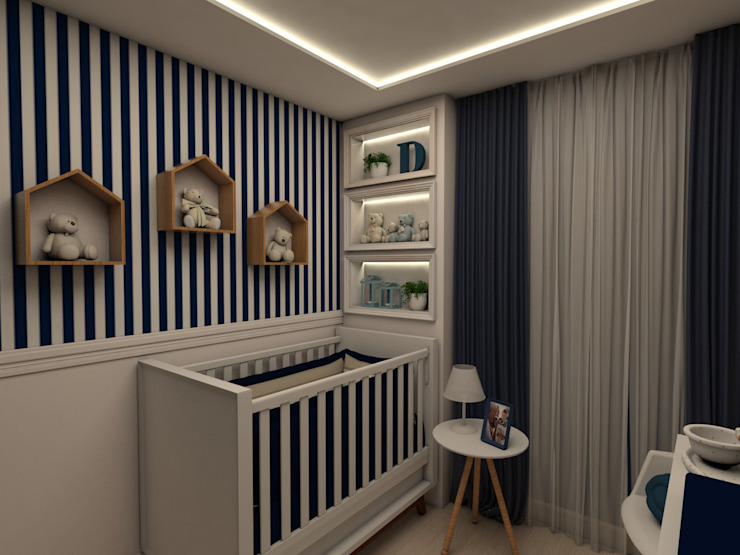 Modern Kid's Room by Tuanny Pinto Arquitetura & Interiores Modern