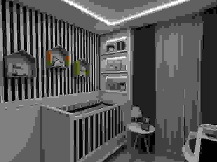 Chambre d'enfant moderne par Tuanny Pinto Arquitetura & Interiores Moderne