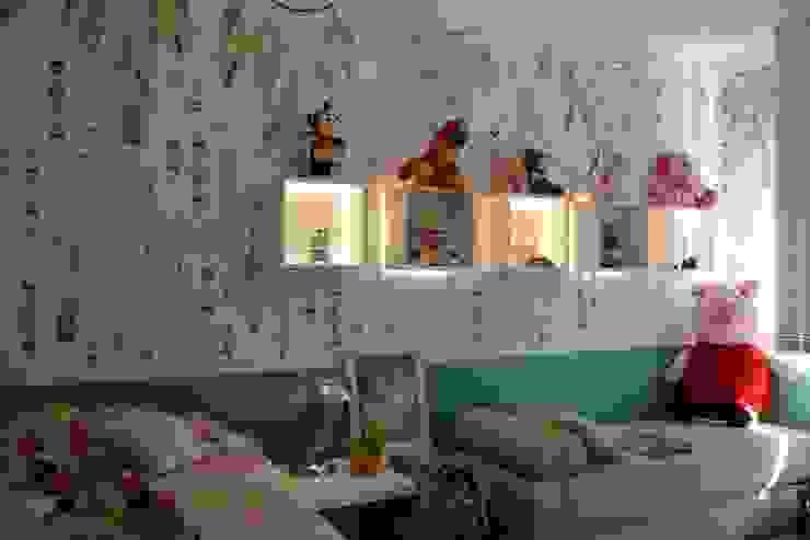 غرفة نوم بنات تنفيذ arquiteta aclaene de mello,