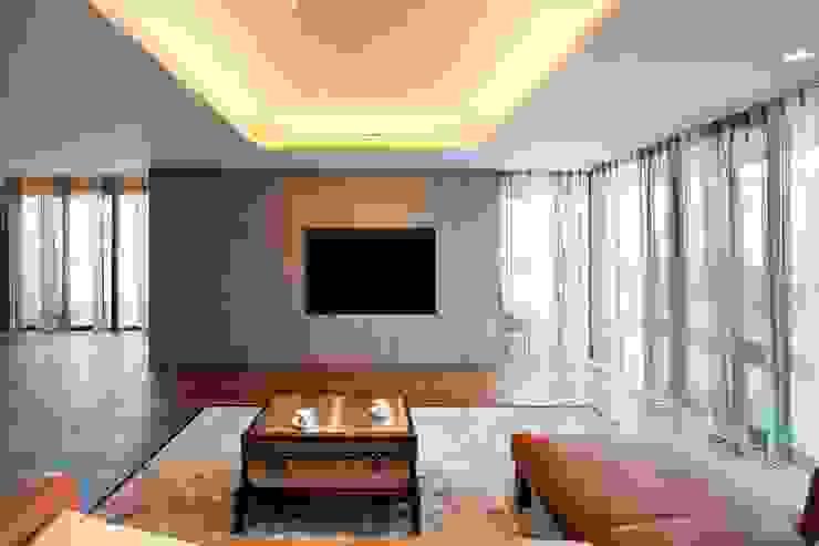 吉川弥志設計工房 ห้องนั่งเล่น